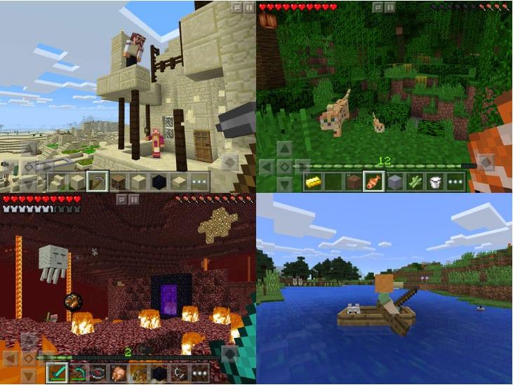 Minecraftのスクリーンショット1