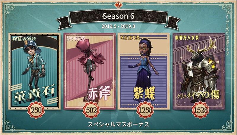 11 第 シーズン 五 人格